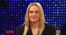 "Will Forte as Jennifer Finney Boylan on ""Saturday Night Live."""
