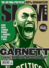 kevin garnett slam magazine cover