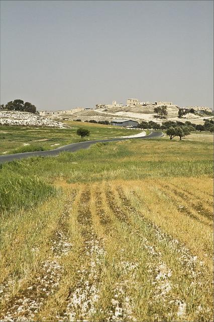 Petrofani village on a hill