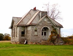 Noble County Schoolhouse (Equinox27) Tags: old school abandoned rural ruins decay victorian indiana spooky weathered slate schoolhouse ruraldecay decayed albion noblecounty