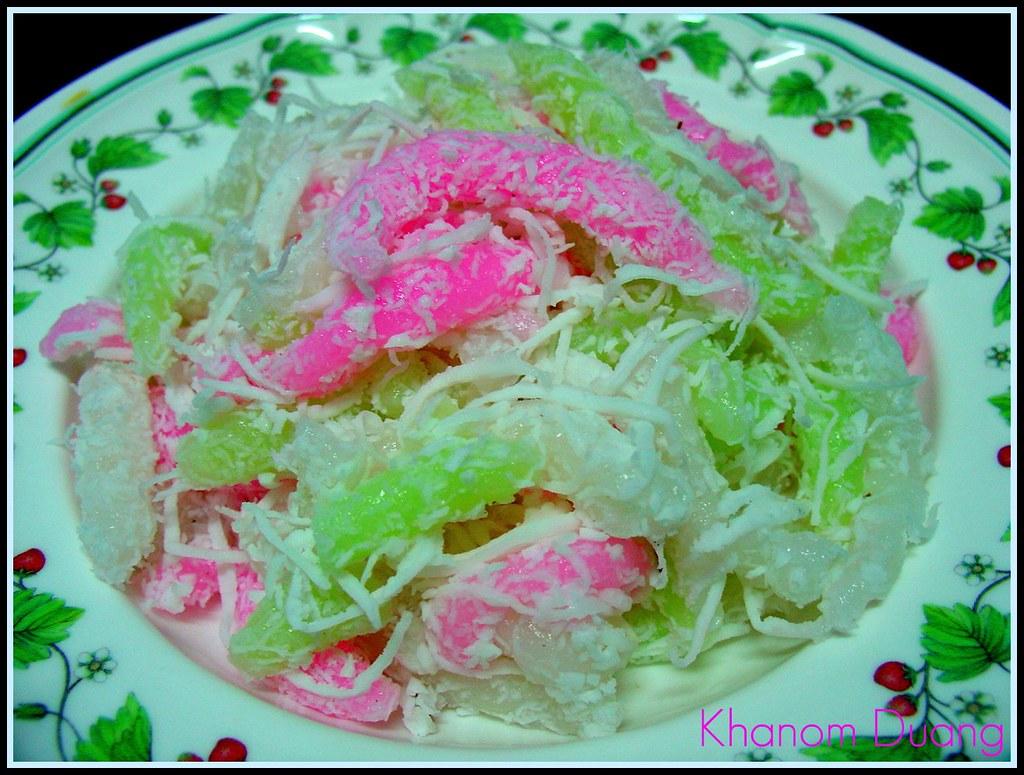 Thai dessert - Khanom Duang for YOU :-)...Enjoy eating :-) ^  ^