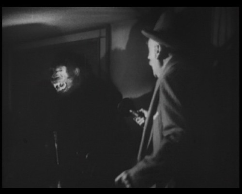 Watson discovers a gorilla umbrella stand