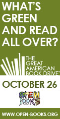 The Great American Book Drive at Open Books!