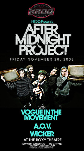 After Midnight Project 11/28