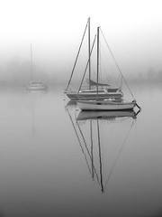 Misty Morning (Mullygun) Tags: mist weather events transport objects australia places 2006 tasmania styles yachts hobart 2008 lindisfarne competitions shoalhaven derwentriver shipsandboats southerntasmania 200806weather ncpnorthsidecreativephotography seasonsandweather