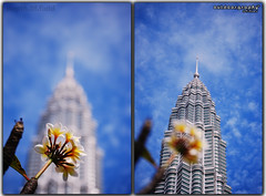 Outdoorgraphy: Depth 0f Field @ KLCC (Sir Mart Outdoorgraphy) Tags: dof bokeh petronas depthoffield malaysia kualalumpur klcc diptychs petronastwintower suriaklcc d0f sirmart outdoorgraphy outdoorgraphy