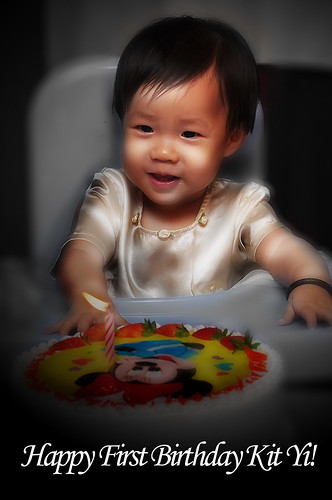 Happy First Birthday Kit Yi