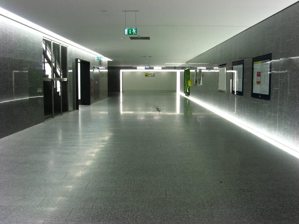 Vienna airport train station 2