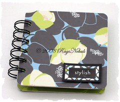 """stylish"" Post It Notes Holder"