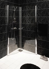 SQ Skandic quarter-round shower (Gustavsberg) Tags: bathroom shower design badevrelse brus badrum dusch suunnittelu dusjer   kylpyhuoneen suihkut
