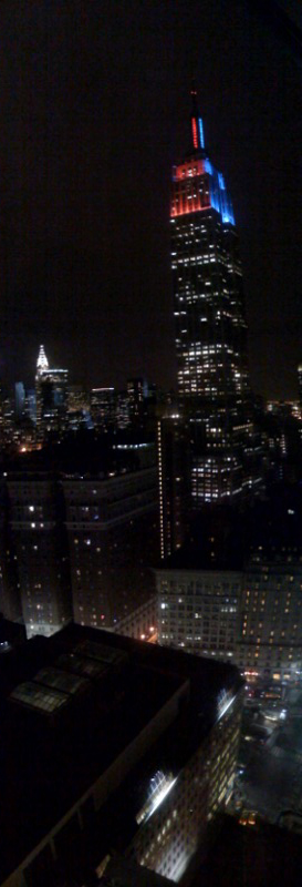 view from NYC tonight part two