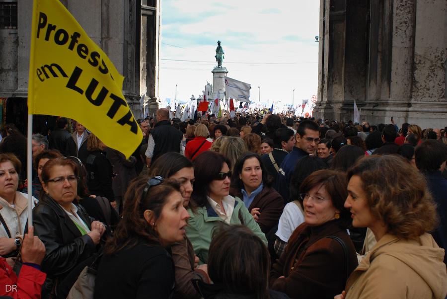 Manifestação de Professores 8 Nov 2008