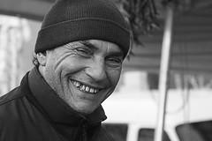 sorridi sei a porta portese (silviacafarelli) Tags: street portrait people man roma smile hat smiling strada gente market roman expression teeth joy romano uomo sorriso wrinkles mercato ritratto cappello gioia sorridere rughe denti espressione