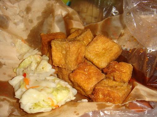 你拍攝的 臭豆腐。