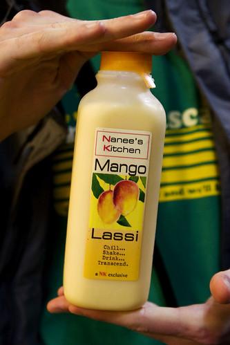 Mango lassi, is gooood