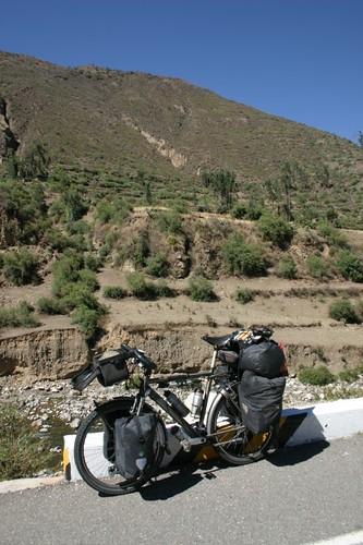 My trusted, Dutch friend. Peru 2008.