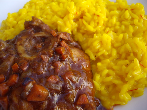 Osso Bucco and Risotto Milanese