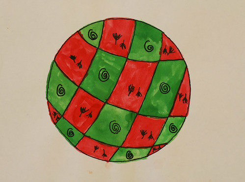 Jamesia's complementary color sphere