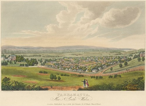 Parramatta, New South Wales 1825 (Joseph Lycett)