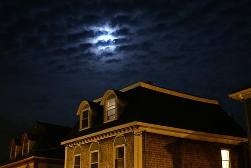 Charlottetown Architecture & Moon