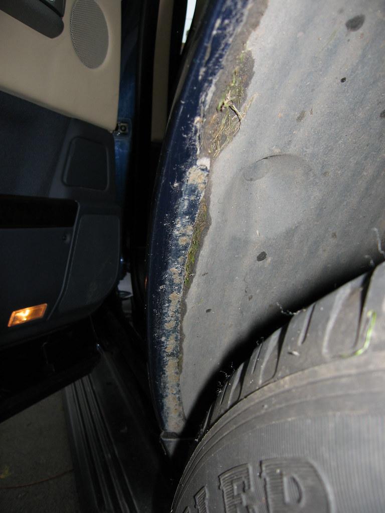 Rusty Wheel Arches Anti Perforation Claim
