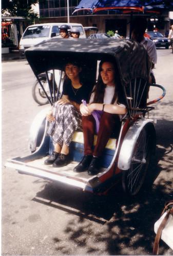 Rickshaw Penang 1990's