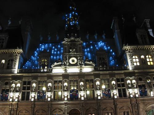 Les premières décos de l'Hôtel de Ville de Paris : comme la Tour Eiffel