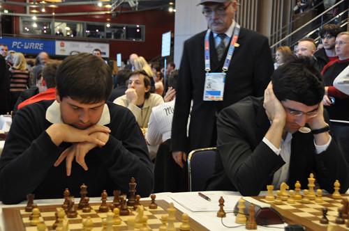 Svidler and Kramnik