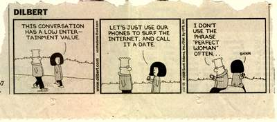 Dilbert online dating