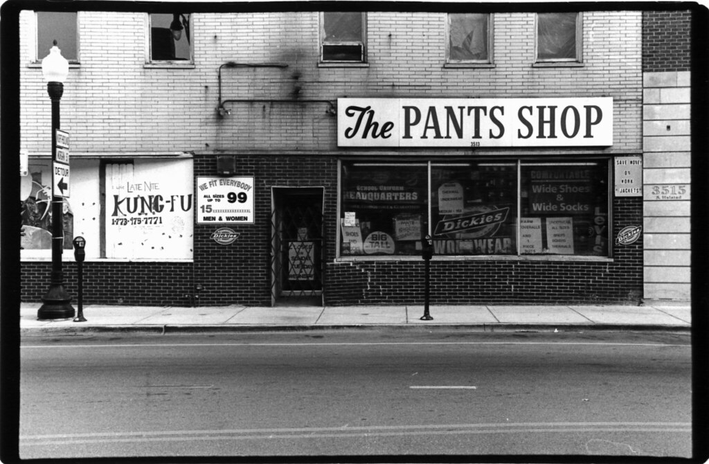 the pants shop