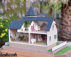 1/144th scale Victorian Mansion (loshcosh) Tags: miniature micro dollhouse 1144th 1144thscaleminiaturedollhouse