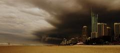 Gold Coast Storm (timmy-b) Tags: storm beach nature landscapes nikon scenery cityscape australia thunderstorms goldcoast australias d80