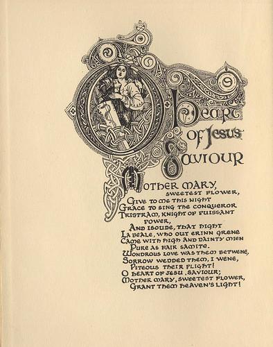 016- Tristan e isolda muestra de decoracion en blanco y negro