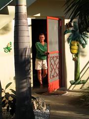 Come and knock on our door! (Haurlie Slaunnett) Tags: november tampabay florida dunedin 2008 egrets intracoastal carolinaskiff harryslaunwhite spoilislands thecaptainsquarters