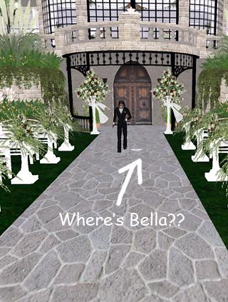 Sam & Bella's Wedding - Uh...where's the bride?!