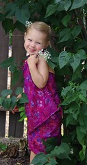 sarong flower girl 2 by Mad Gringo