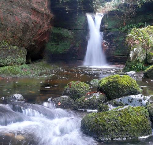 Kelburn waterfall 05Dec08