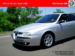 Alfa Romeo 156 nov 08 4 (renato155) Tags: brazil sport br 1999 porto 25 alfa romeo alegre rs v6 156 24v alfaromeobr