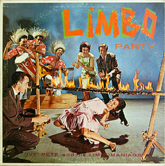 Limbo Party (dogwelder) Tags: music fire album vinyl cover record zurbulon6 zurbulon agiftfromthebrianpatrickcollection ivypeteandhislimbomaniacs
