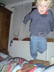 Flying again (cole007) Tags: shozu jumping bed hopping bouncing bairn gethin bedjump gethinhenley bairnblog