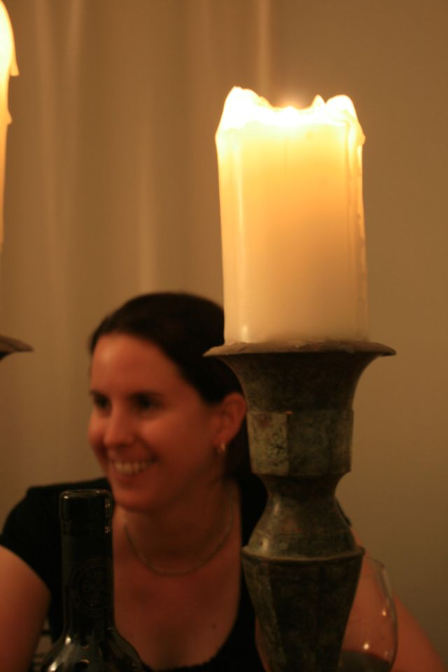 caz and candle