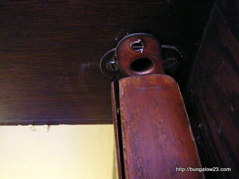 Broken Kitchen Swinging Door