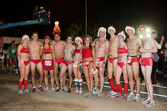 Some of the 2008 Santa Speedos