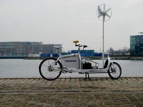 Human Battery - Bullitt with Wind Mill and Solar Panels