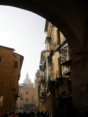 Torre de la Clerecía desde la plaza
