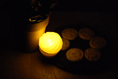 Night Light Cupcake Soap