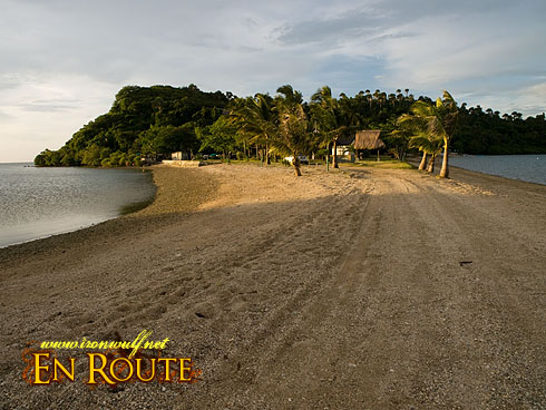 Boquete Island Sandbar Beach