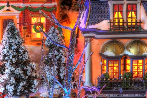 Dicken's Village on December 22