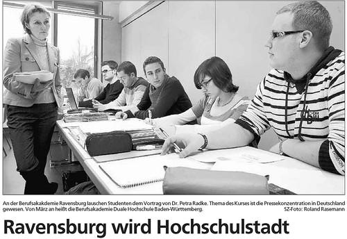 Ravensburg wird Hochschulstadt