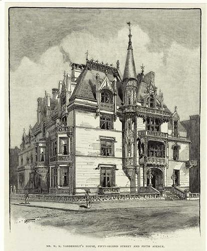 000a-Vanderbilt's house, Quinta Avenida NY